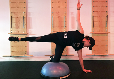 5 BOSU Ball Exercises for Total-Body Strength