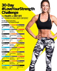 30-Day Love Your Strength Challenge