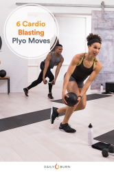 6 Plyometric Exercises for a No-Running Cardio Workout